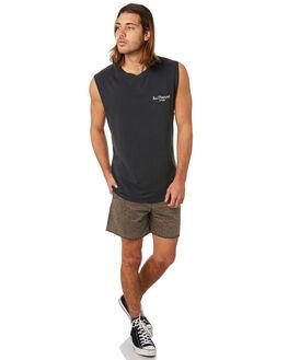 BLACK MENS CLOTHING INSIGHT SINGLETS - 5000003310BLK