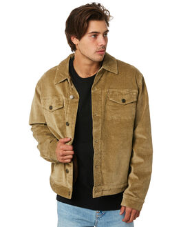 GREEN MENS CLOTHING RHYTHM JACKETS - APR19M-JK02-GRN