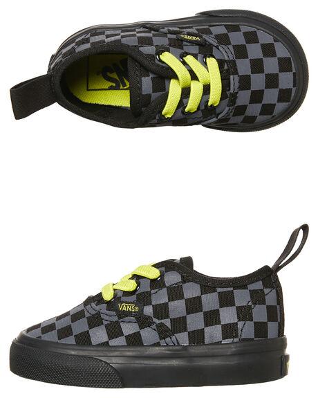 8d9755ac47 Vans Authentic Elastic Lace Check Shoe - Kids - Asphalt Reflective ...