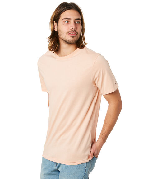 HAZEY PINK MENS CLOTHING VOLCOM TEES - A5011530HZP