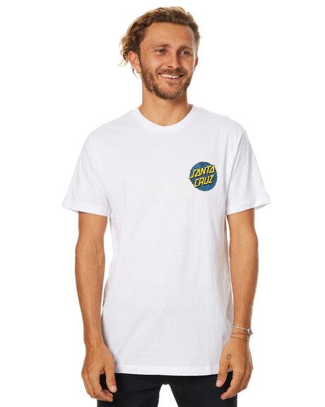 WHITE MENS CLOTHING SANTA CRUZ TEES - SC-MTB7507WHT