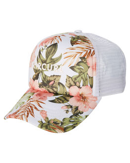 WHITE WOMENS ACCESSORIES RIP CURL HEADWEAR - GCAFD11000