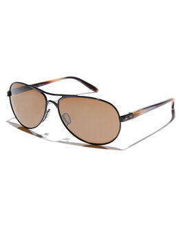 POLISHED BLACK PRIZM WOMENS ACCESSORIES OAKLEY SUNGLASSES - 0OO4079-3659