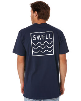 NAVY MENS CLOTHING SWELL TEES - S5201021NAVY
