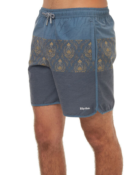 NAVY MENS CLOTHING RHYTHM BOARDSHORTS - JAN18M-JM07NAV