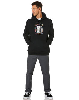 BLACK MENS CLOTHING VOLCOM JUMPERS - A4112012BLK