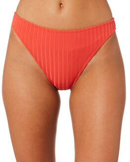 TANGERINE WOMENS SWIMWEAR PEONY SWIMWEAR BIKINI BOTTOMS - RE19-079-TAN
