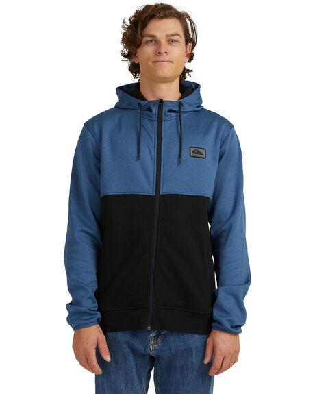 TRUE NAVY MENS CLOTHING QUIKSILVER JUMPERS - UQYFT03064-BPZ0