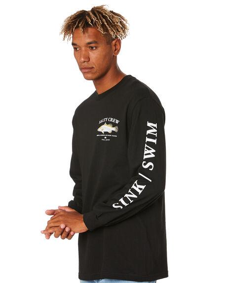 BLACK MENS CLOTHING SALTY CREW TEES - 20135197ABLK