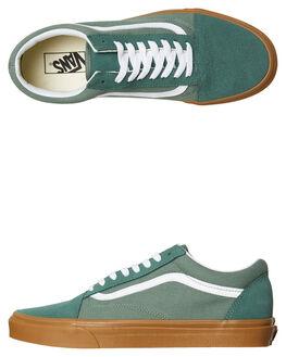 DUCK GREEN GUM MENS FOOTWEAR VANS SNEAKERS - VNA38G1Q9VDUCK
