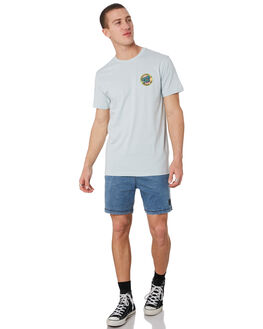 PASTEL SKY MENS CLOTHING SANTA CRUZ TEES - SC-MTD9344PTSKY