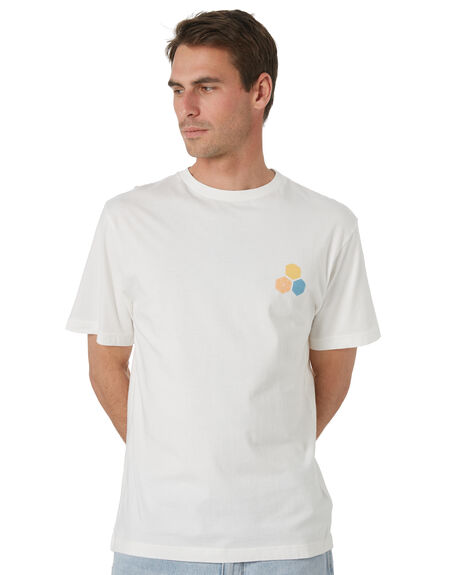 STOUT WHITE MENS CLOTHING CHANNEL ISLANDS TEES - 23160100101SWHT