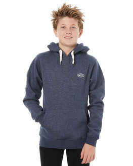 NAVY MARLE KIDS BOYS SWELL JUMPERS + JACKETS - S3184447NVYMA