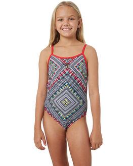 GYPSY SQUARE USA RED KIDS GIRLS SPEEDO SWIMWEAR - 42M55-7259GYPRD