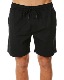 BLACK MENS CLOTHING DEPACTUS BOARDSHORTS - D5183234BLACK