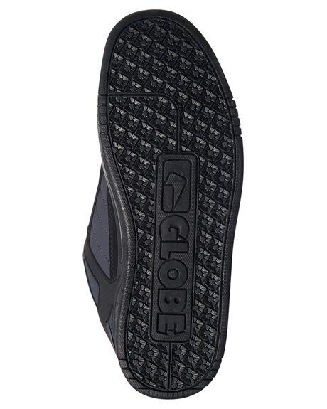 BLACK EBONY TEAL MENS FOOTWEAR GLOBE SNEAKERS - GBTILT-20284