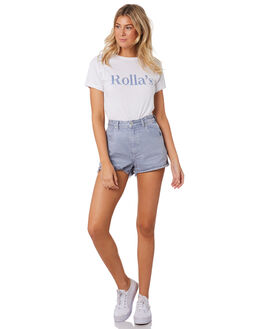 FRENCH BLUE WOMENS CLOTHING ROLLAS TEES - 13025FBLU