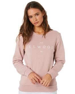 MAUVE WOMENS CLOTHING ELWOOD JUMPERS - W91211O80