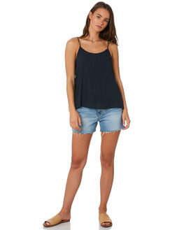 INDIGO WOMENS CLOTHING RIP CURL FASHION TOPS - GSHBY90088