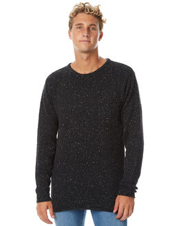BLACK MENS CLOTHING RIP CURL KNITS + CARDIGANS - CSWCQ10090