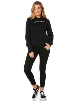 BLACK WOMENS CLOTHING SANTA CRUZ JUMPERS - SC-WFC8636BLK