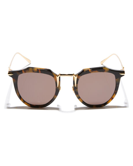 YELLOW TORT GOLD WOMENS ACCESSORIES VALLEY SUNGLASSES - S0357YELTR
