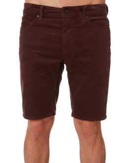 BORDEAUX BROWN MENS CLOTHING VOLCOM SHORTS - A0931901BXB