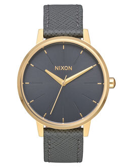LIGHT GOLD CHARCOAL UNISEX ADULTS NIXON WATCHES - A1082815