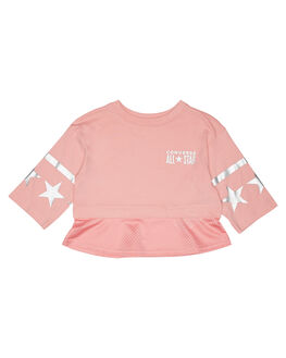 COASTAL PINK KIDS GIRLS CONVERSE TOPS - R369784A85
