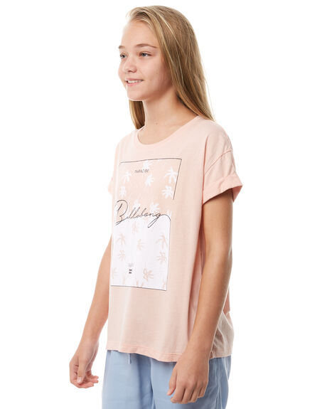 TANLINE KIDS GIRLS BILLABONG TEES - 5585002TAN