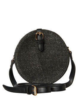 BLACK WOVEN WOMENS ACCESSORIES BILLINI BAGS + BACKPACKS - HB12BLK