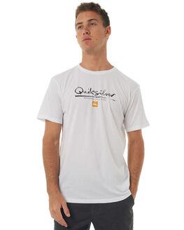 WHITE MENS CLOTHING QUIKSILVER TEES - EQMZT03043WBB0