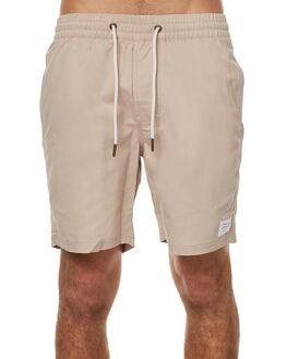 TAN MENS CLOTHING BARNEY COOLS BOARDSHORTS - 611-MC3TAN