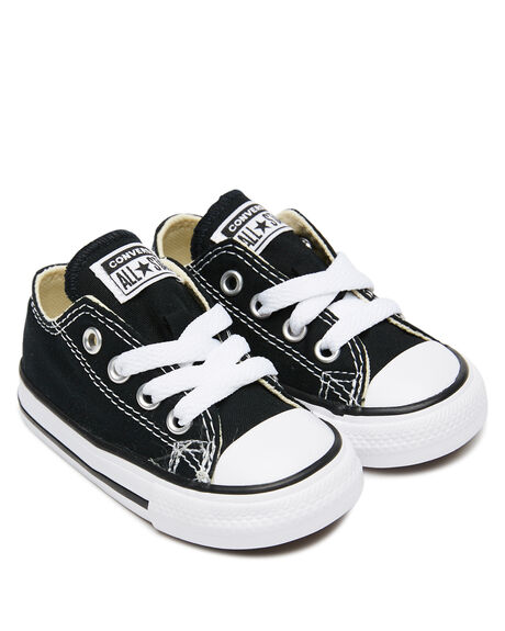 BLACK KIDS BOYS CONVERSE FOOTWEAR - 7J235BLK