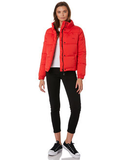 RED WOMENS CLOTHING RPM JACKETS - 9WWT10A2RED