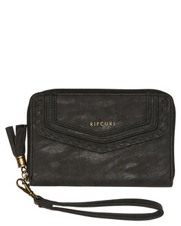 BLACK WOMENS ACCESSORIES RIP CURL PURSES + WALLETS - LWUIM10090