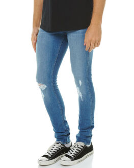 TURNAROUND BLUE MENS CLOTHING WRANGLER JEANS - W-900891-BT1TURNB