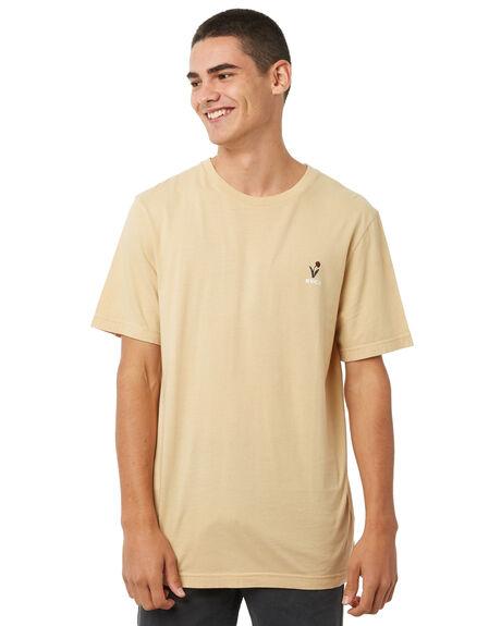 CLAY MENS CLOTHING RVCA TEES - R181052CLAY