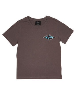 DARK GREY KIDS BOYS RIP CURL TOPS - OTEVH21221