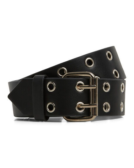 BLACK WOMENS ACCESSORIES ELEMENT BELTS - EL-294702-BLK