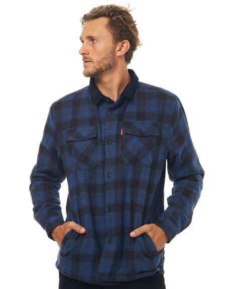 NAVY MENS CLOTHING DEPACTUS JACKETS - D5171388NAVY