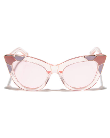 FLOSSY PINK ROSEGOLD WOMENS ACCESSORIES PARED EYEWEAR SUNGLASSES - PE1201PIPNKRS