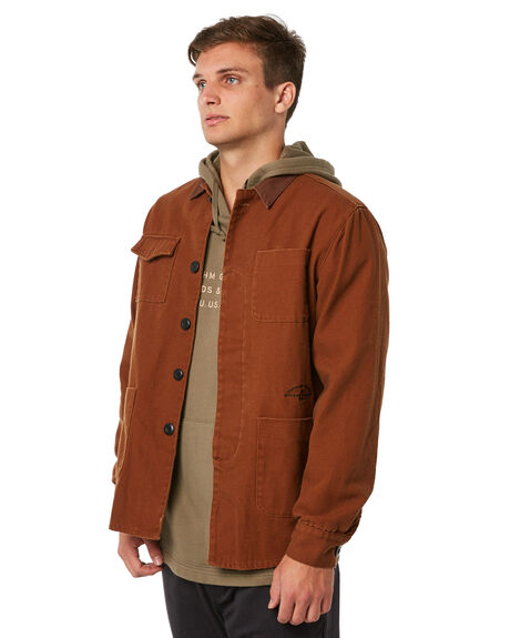 ALMOND MENS CLOTHING RHYTHM JACKETS - JUL18M-JK03ALM
