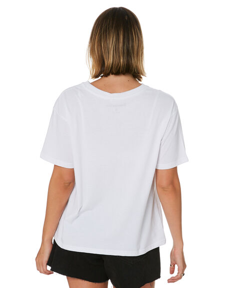 WHITE WOMENS CLOTHING SUNNYVILLE TEES - 48L0072WHT
