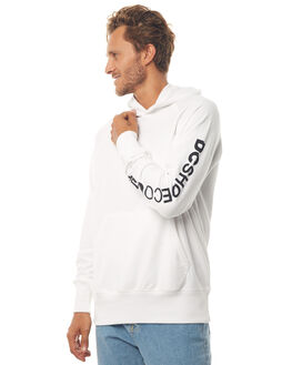 SNOW WHITE MENS CLOTHING DC SHOES JUMPERS - ADYFT03190WBB0