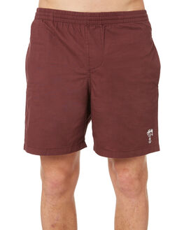 DARK AUBERGINE MENS CLOTHING STUSSY BOARDSHORTS - ST081610DAUB