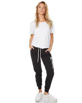 BLACK WOMENS CLOTHING HURLEY PANTS - AGPTOC1700A10