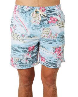 SEA BLUE MENS CLOTHING RUSTY BOARDSHORTS - BSM1341SEA