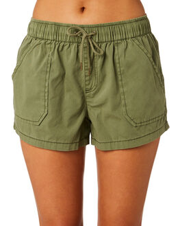 KHAKI WOMENS CLOTHING SWELL SHORTS - S8201197KHAKI