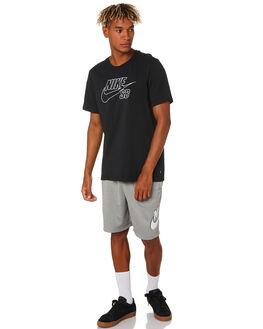 BLACK MENS CLOTHING NIKE TEES - CD2109010